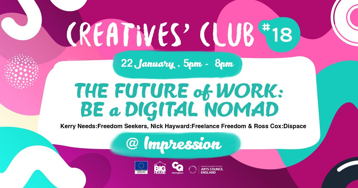 Speaking about freelance remote work at Creatives' Club #18