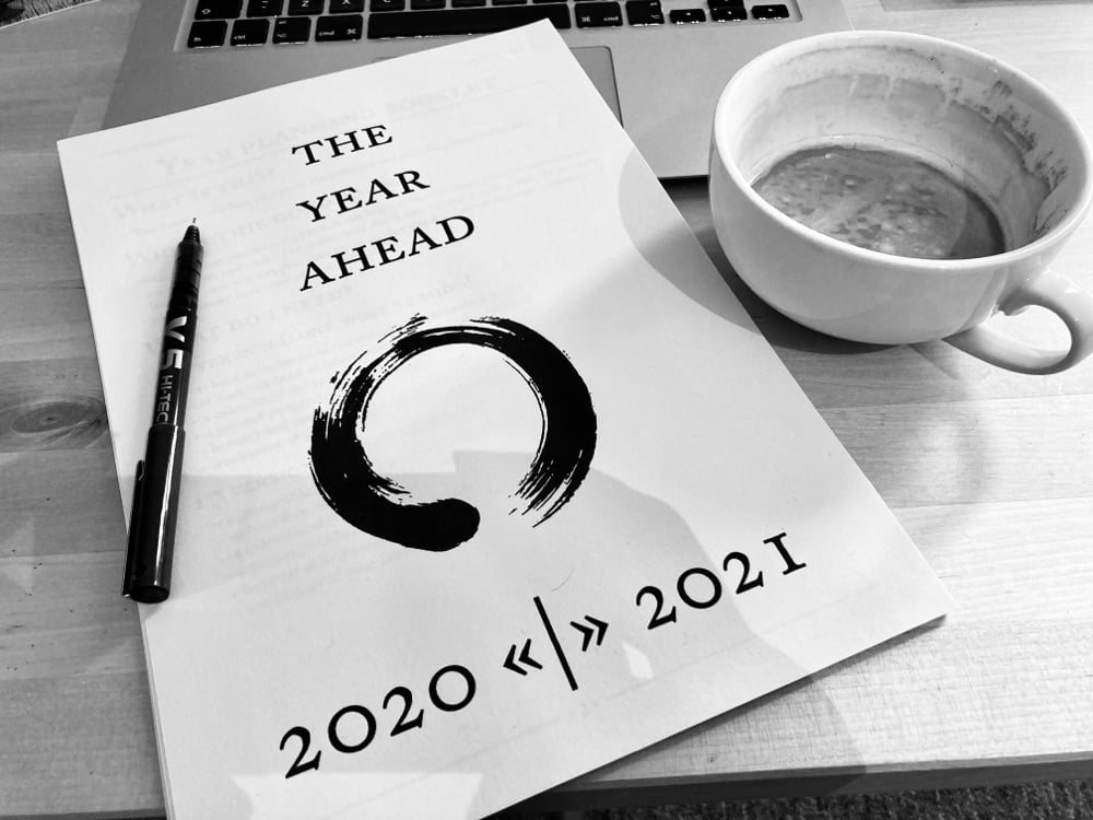YearCompass – taking stock of 2020 and planning 2021